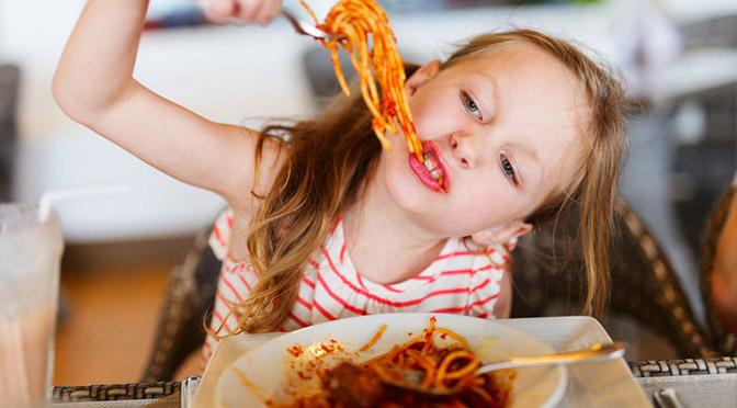 Restaurant gratuit pour enfants