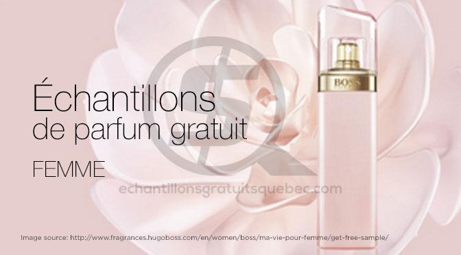 Parfum gratuit pour Femme Echantillons