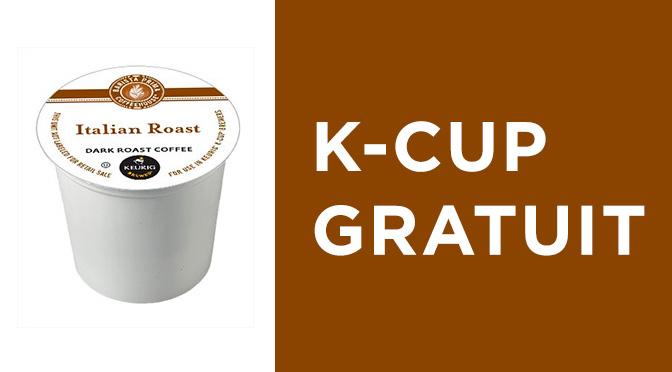 K-CUP gratuit