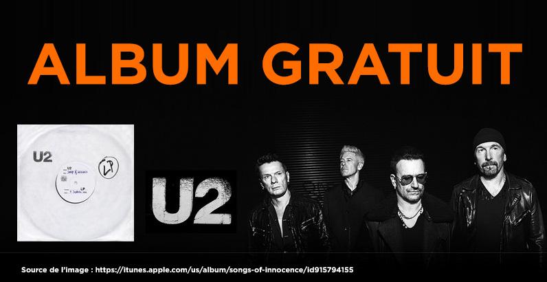Album de U2 gratuit
