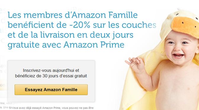 Économiser sur les couchez avec Amazon Famille