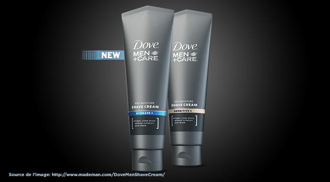 Échantillons gratuit de Crème à raser Dove Men Care