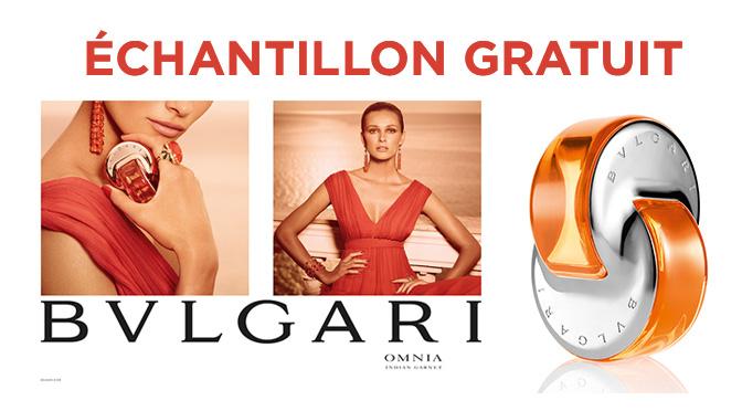 Échantillons gratuit parfum BLVGARI