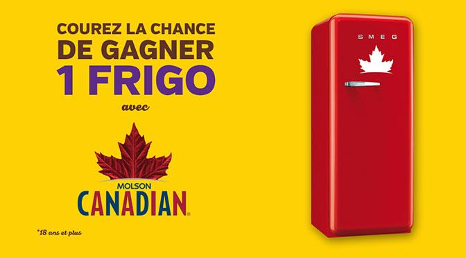 Concours Frigo Molson canadian