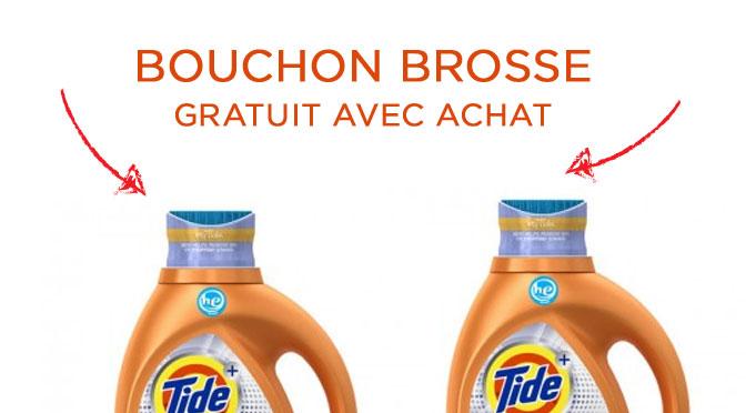 Bouchon brosse gratuit