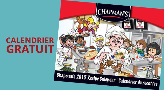 Calendrier Chapman's gratuit