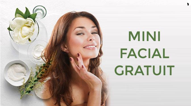 Mini facial Origins gratuit !