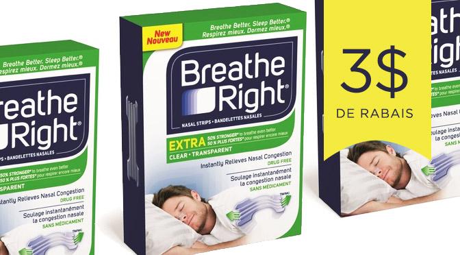 couopon rabais Breathe Right