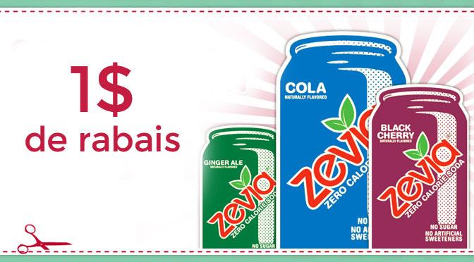 coupon rabais Zevia