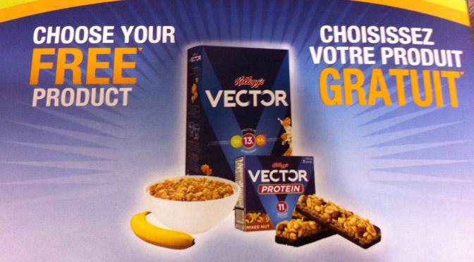 Produit gratuit VECTOR de Kellogg's
