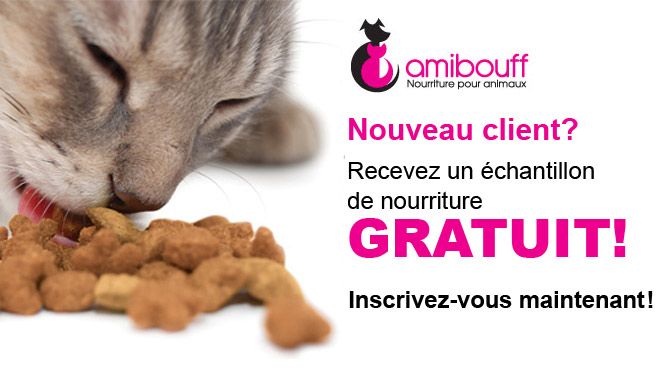 Amibouff 1 semaine de nourrite gratuite pour chat ou chien