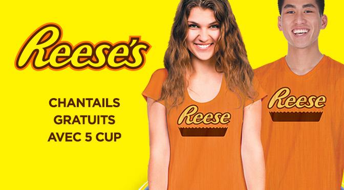 chandails chocolat Reese Gratuit Aniversaire