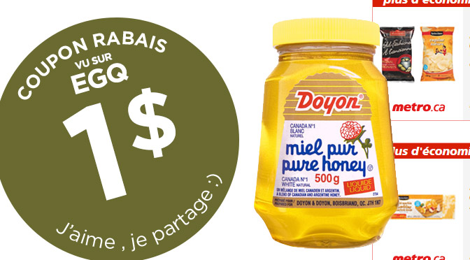 coupon-rabais-metro-miel-doyon