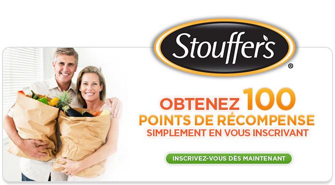 Programme de récompense Stouffer's