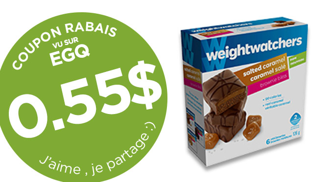 coupon rabais weight watchers de 55 sous
