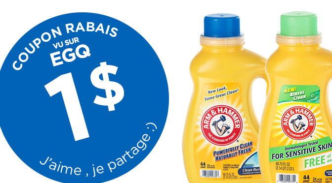 coupon rbais Arm and Hammer