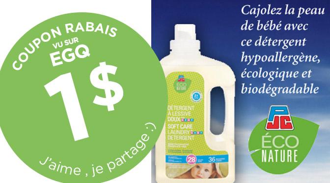 coupon rbais PJC Econature