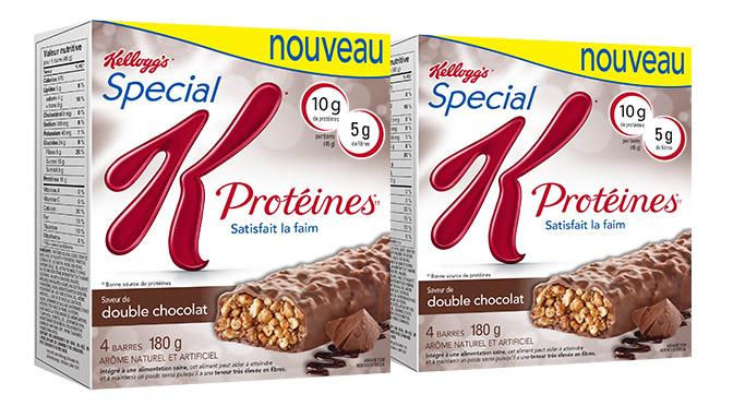 coupon rabais Kellogg's de 3$ Barre Protéine, Déjeuné et céréale