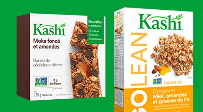 Coupon-rabais Kashi Barre et Céréales