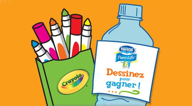 Marqueurs Crayola Gratuits !