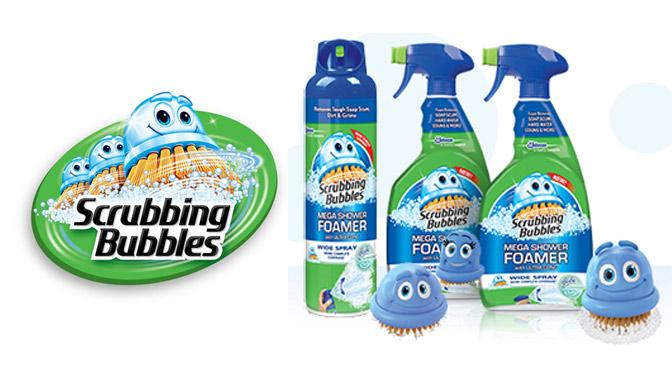 Produit Scrubbing Bubbles gratuit