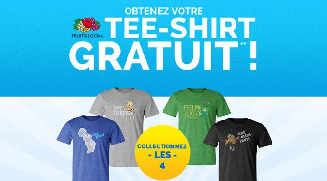tee-Shirt ceraale gratuit