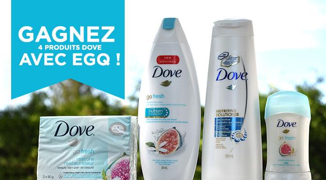 Concours Dove avec EGQ