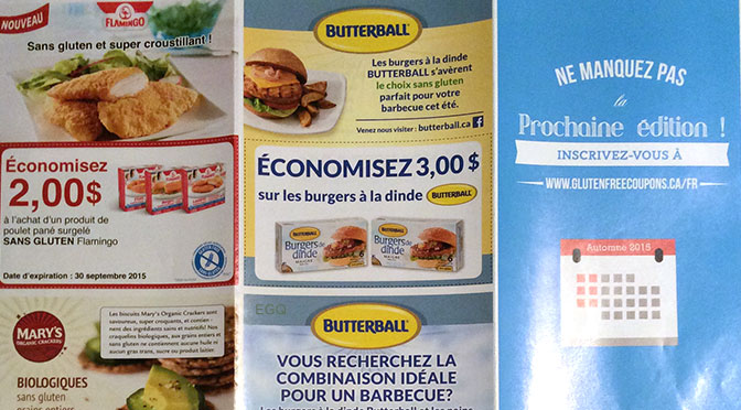 coupon gratuit sans gluten