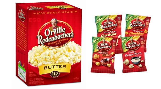coupon rbais Pop-corn Orville Redenbacher