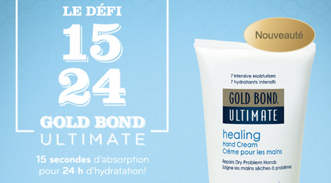 Échantillons gratuit Gol bond Ultimate Healing