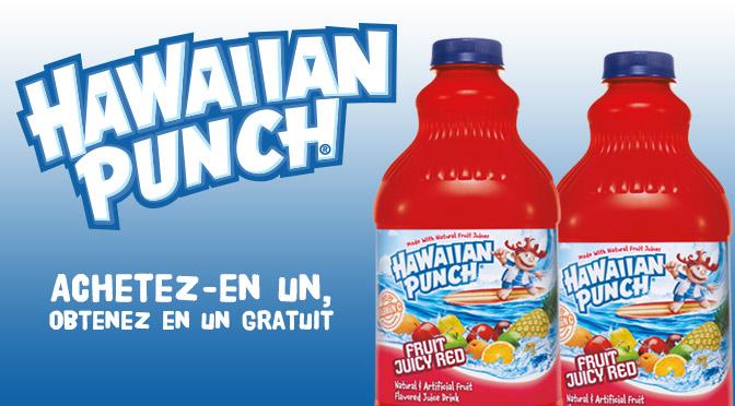 Coupon hawaiian punch achetez en un recevez en un gratuit