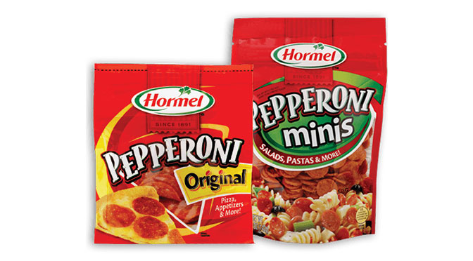 coupon rbais de 1$ hormel Pepperoni