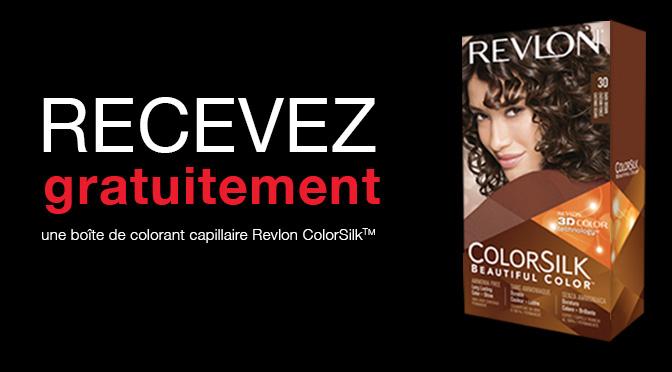 Teinture Revlon colorsilk gratuite !
