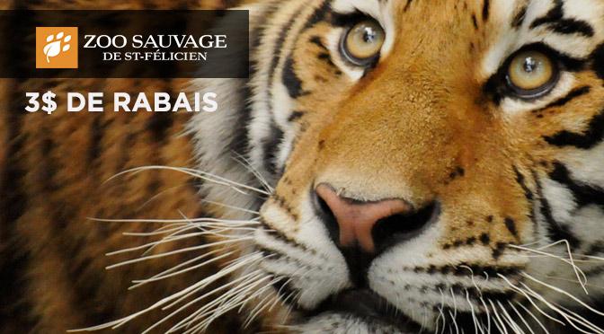 Zoo de St-Felicien coupon 2015