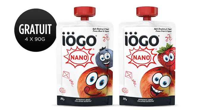Collation gratuite Iogo Nano
