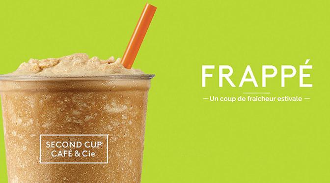Échantillons de Café frappé gratuit chez second cup