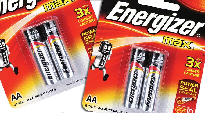 Batterie Energizer gratuites