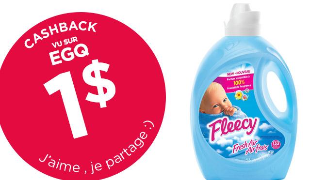 Économie Fleecy cashback