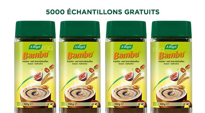 Échantillons gratuits Bambu A.Voguel