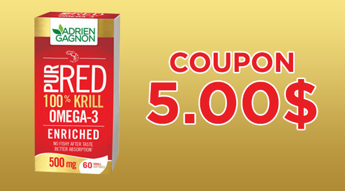 Red Krill pure RED Adrien Gagnon Coupon