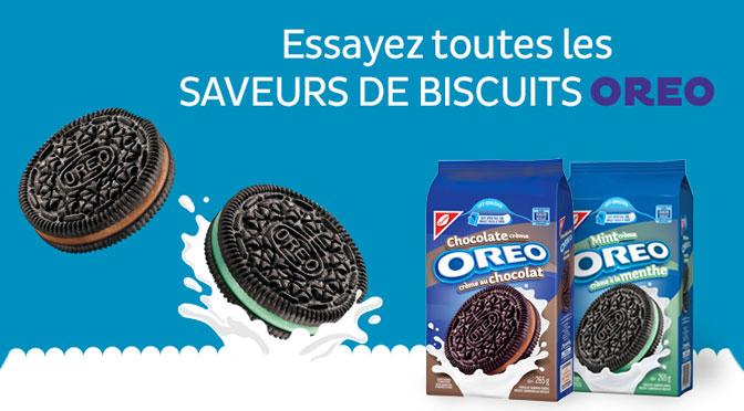 Coupon-rabais Oreo Biscuit