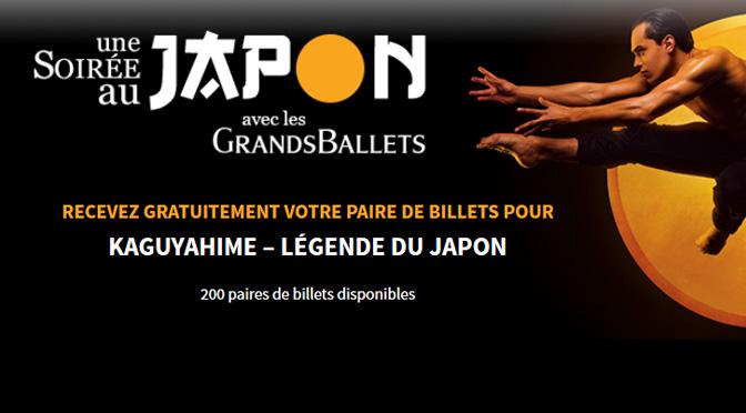 Billets gratuit Japon grand ballet