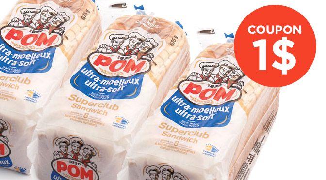 Coupon pain pom ultra-moelleux
