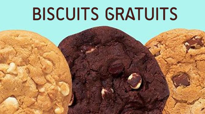 biscuit gratuit subway
