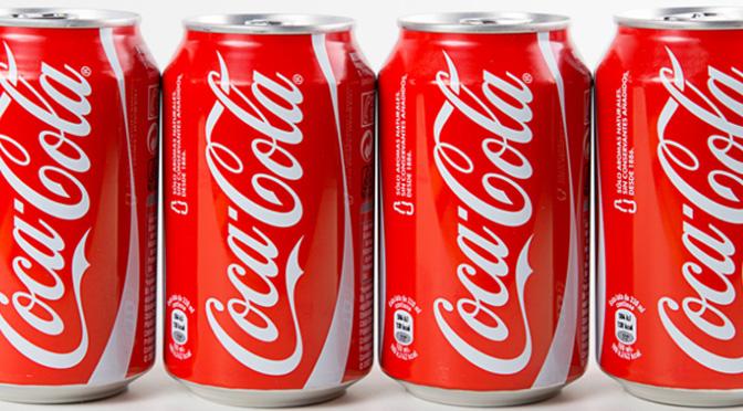 Canette de coca-cola gratuite