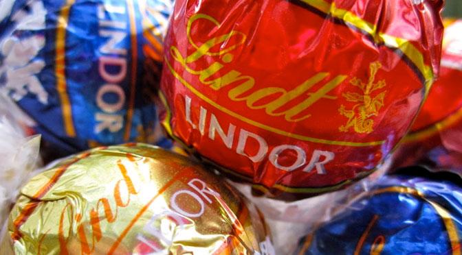 Chocolat Lindor de lindt gratuit