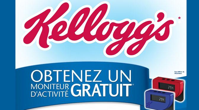 Moniteur d'activité Kellogg's