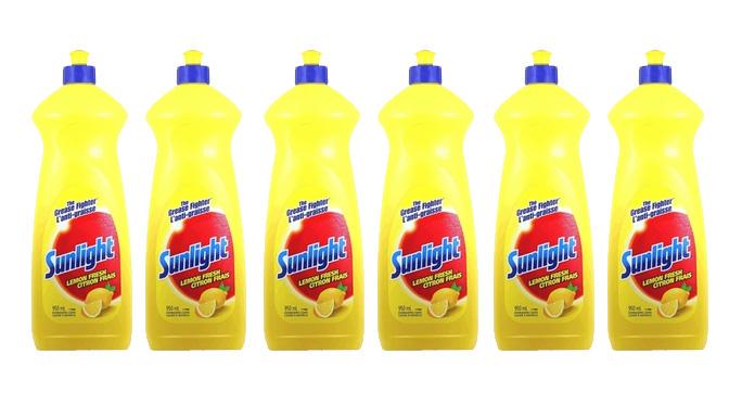 1$ sur le savon sunlight