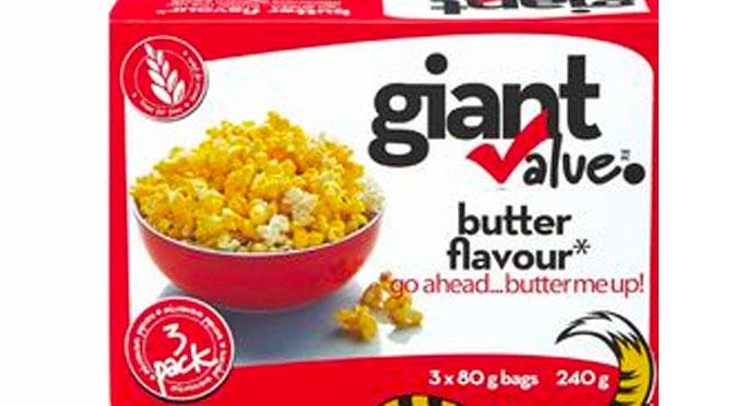 Coupon pop-corn giant value