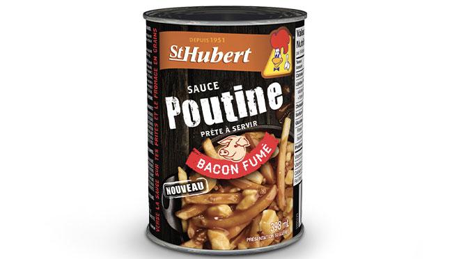 Sauce à poutine au bacon fume St-Hubert